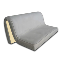 Matelas Eulastic pour canapé convertible en HR 43kg/M3 de 10 à 15cm