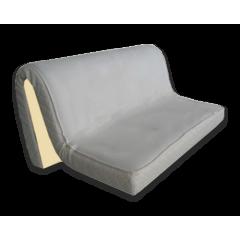 Matelas Eucapur pour canapé convertible en HR 55kg/M3 de 10 à 15cm