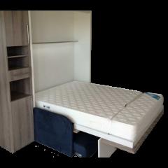 Eulastic HR 43kg/M3 H: 10-15cm pour lit escamotable