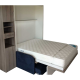 Matelas Eulastic HR 43kg/M3 de 10 à 15cm pour lit escamotable.