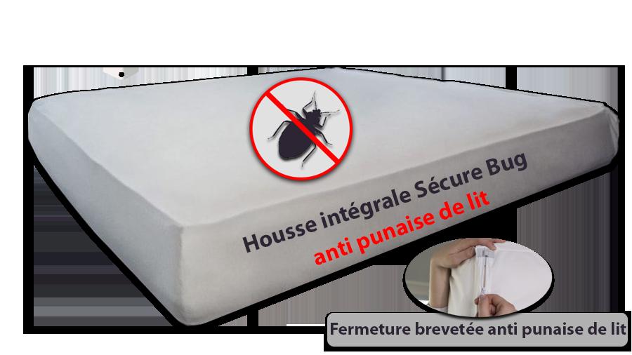 Sécure Bug housse intégral anti punaise de lit
