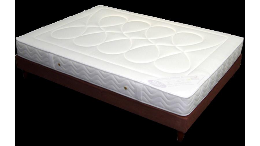 pack heveane sommier pied dunlopillo espace du sommeil. Black Bedroom Furniture Sets. Home Design Ideas