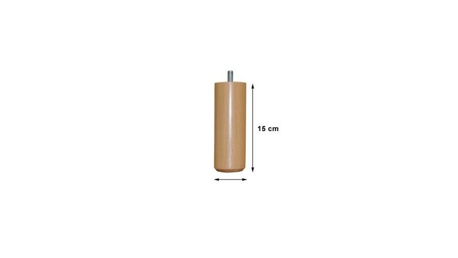 Jeu de 4 pieds Cylindrique Sédac Méral