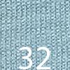 32 bleu ciel